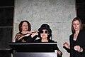 Elizabeth Macgregor, Yoko Ono and Rachel Kent 2013.jpg