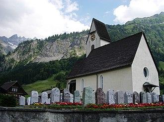 Elm, Switzerland - Church of Elm