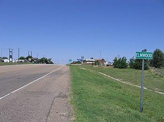 Elmwood, Oklahoma - Elmwood in June 2007