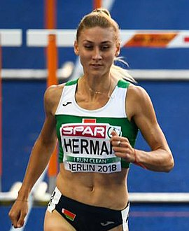 Elvira Herman 2018 European Athletics Championships Day 4 (cropped).jpg