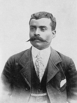Emiliano Zapata - Image: Emiliano Zapata, 1914