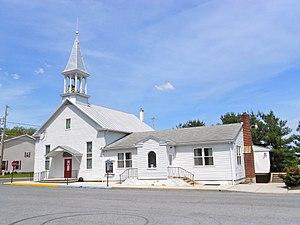 Franklintown, Pennsylvania - Image: Emmanuel Lutheran Franklintown, PA