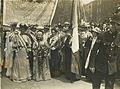 Emmeline Pankhurst and Elizabeth Wolstenholme Elmy, 1908. (22923584155).jpg