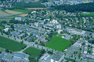Swiss Federal Laboratories for Materials Science and Technology - Empa premises at Dübendorf near Zurich