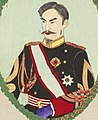 Emperor Meiji detail, from- 16126.d.2(84)-Japanese, Chinese and Korean dignitaries (cropped).jpg