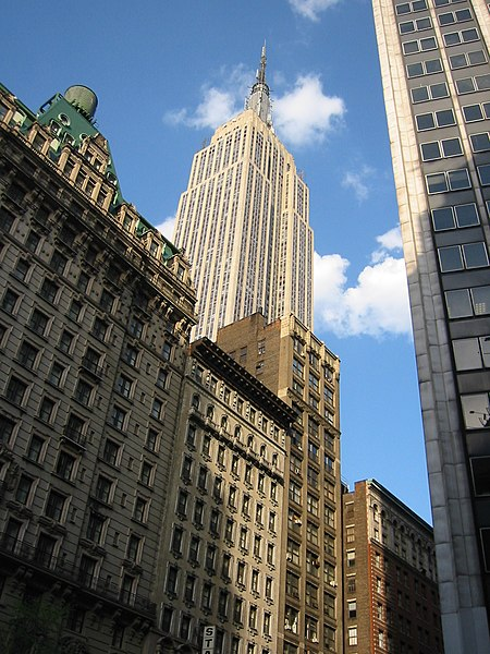 Fichier:Empire State Building New York City Flickr Tjeerd.jpg