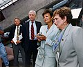 Energy Secretary Hazel O'Leary Visit to ORNL 1994 (27559145850).jpg