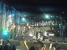 Enslaved на Wacken Open Air в 2007 году.