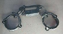 Ceppi utilizzati per incatenare gli schiavi.
