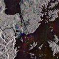 Envisat radar image of the Panama Canal ESA232186.tiff