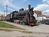 Er764-42 steam locomotive Molodechno 6 May 2016.jpg