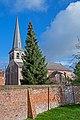 Erfgoedsite Ramsdonk, Lourdesgrot, oude pastorij en Sint Martinus kerk. 08.jpg