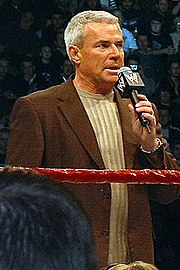 Eric Bischoff, former WCW CEO & on-screen President as well as former WWE RAW General Manager