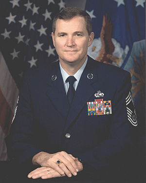 Eric W. Benken - 12th Chief Master Sergeant of the Air Force (1996-1999)