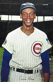 Ernie Banks American baseball player