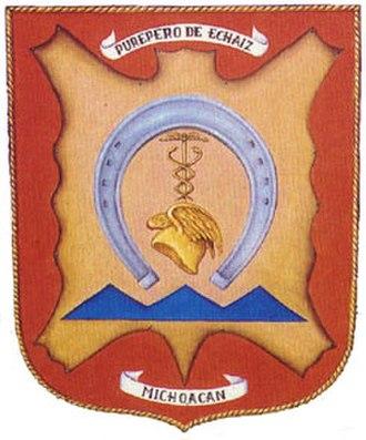 Purépero de Echaíz - Image: Escudosmall