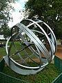 Esfera Armilar - Parque do Ibirapuera.JPG