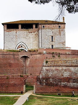 Esterno Cassero Senese (Grosseto)