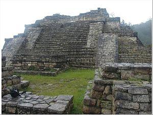 Chinkultic - Structure 1 (Acropolis)