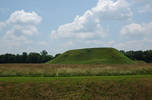 Etowah Indian Mounds - Chief  Mound (Mound A)