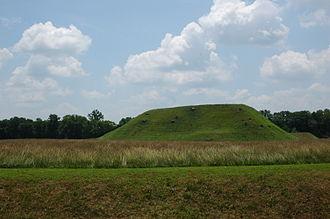 Etowah Indian Mounds - Chief  Mound (Mound A)