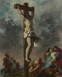 Eugène Delacroix (1798-1863) - Christ on the Cross - NG6433 - National Gallery.jpg