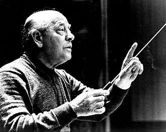 Eugene Ormandy - Ormandy conducting the Philadelphia Orchestra.