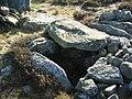 Excavated cist in Blawearie Cairn - geograph.org.uk - 1139485.jpg