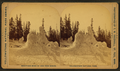Extinct Geyser Cones, Mt. Schurs, by Ingersoll, T. W. (Truman Ward), 1862-1922.png