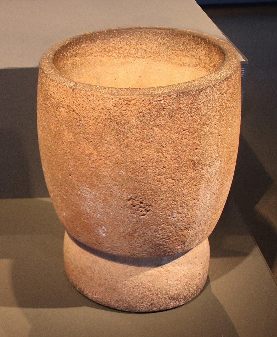 Eynan Epipaleolithic mortar