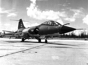 198th Airlift Squadron - F-104D Starfighter of the 198th Tactical Fighter Squadron.
