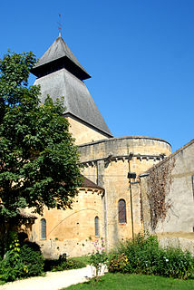 abbey located in Dordogne, in France