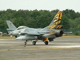 31st Squadron (Belgium) - F-16 of 31st Squadron, 2005