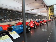 F1 cars at Musée National de lAutomobile.jpg