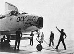 FJ-3 Fury of VF-173 aboard USS Randolph (CVA-15), circa in 1957.jpg