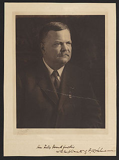 Frederick William Lehmann German American lawyer