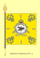 Fahne 3InfRgt 1761.png