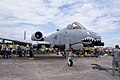 Fairchild-Republic A-10C Thunderbolt II Sharksmouth RFront SNF 16April2010 (14443812809).jpg