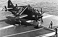 Fairey Gannet COD.4 aboard USS Bennington (CVS-20) in 1965.jpg