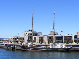 <i>Falie</i> Falie is a 46-metre (151 ft) historic ketch retired in Port Adelaide, South Australia.