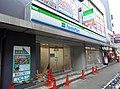 FamilyMart JR Tenma-ekimae store under construction.jpg