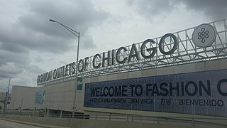 Fashion Outlets of Chicago Shopping mall in Rosemont, Illinois
