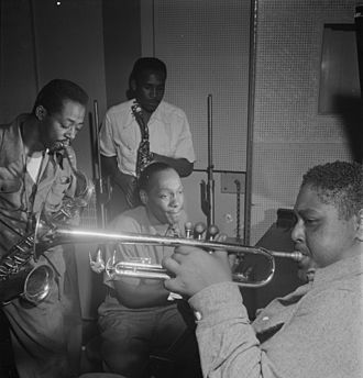 Charlie Rouse - Fats Navarro, Charlie Rouse, Ernie Henry and Tadd Dameron  Photo: William P. Gottlieb