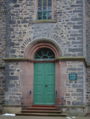 Feldatal Windhausen Kestricher Strasse 4 Kirche portal.png