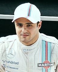 Felipe Massa po Grand Prix Włoch (2014)