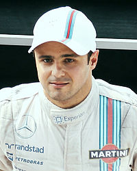 Felipe Massa under Italiens Grand Prix 2014.