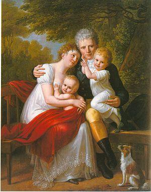 Philipp Friedrich von Hetsch - Image: Ferdinand Zeppelin Familie