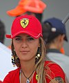 Ferrari2 girl at F1race.jpg