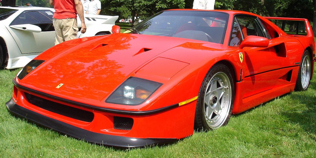 Ferrari F40 Wikipedia La Enciclopedia Libre
