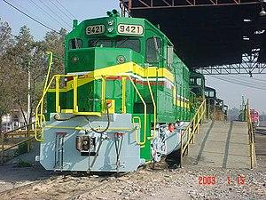 Ferrocarril y Terminal del Valle de México - Ferrovalle 9421 a EMD GP38-2 locomotive